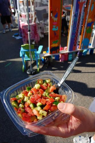Silk Road salad
