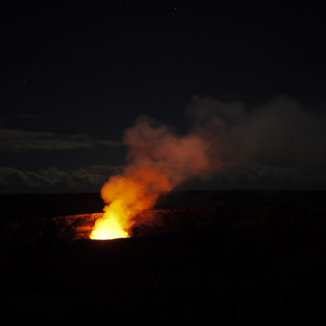 Halema'uma'u at Night