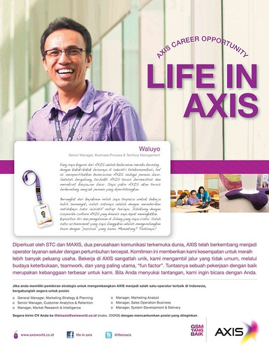 AXIS Recruitment Ad Campaign 2011