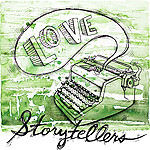 storytellers button green