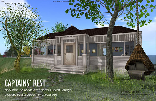 Prim Perfect No. 36: Captain's Rest - our Home of the Month