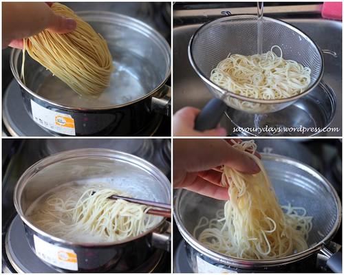 Crispy stir-fried noodles - Method 2