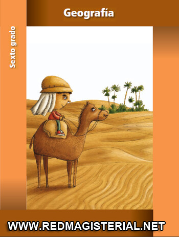 libro de geografia 6 grado