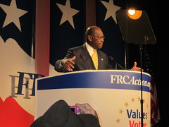 Herman Cain Speaks At Values Voter Summit