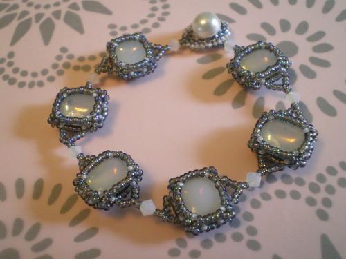 Victoria Faux Opal Bracelet