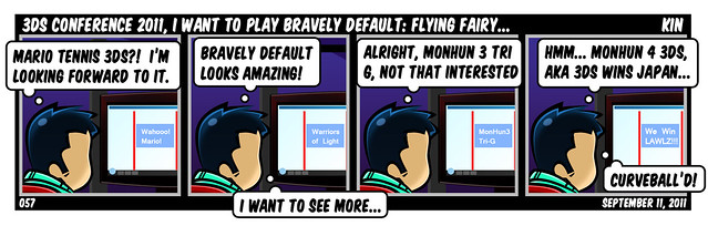 3DS Conference 2011, I Want To Play Bravely Default: Flying Fairy...