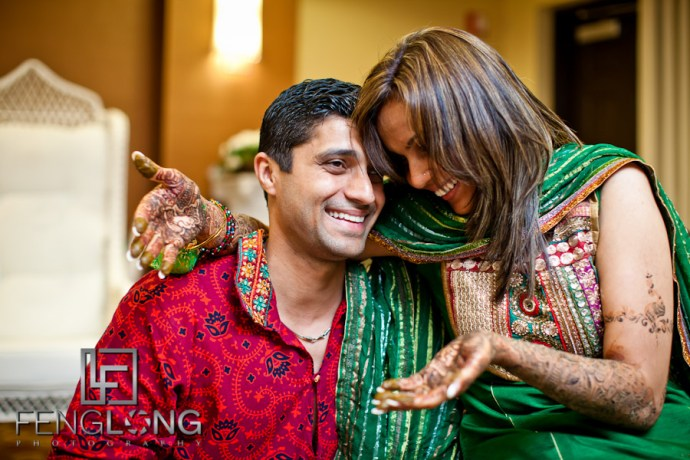 Bride & Groom   Shamz & Sana's Wedding Day 1   Hyatt Place Atlanta Airport South   Atlanta Indian Photographer