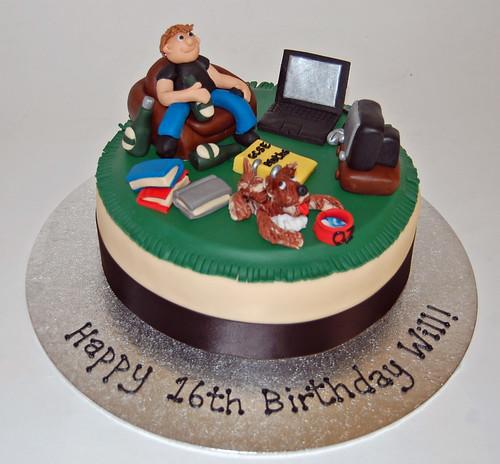 Boy S 16th Birthday Cake Beautiful Birthday Cakes