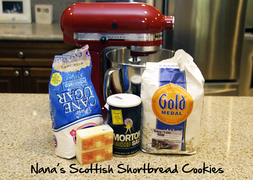 Nana's Scottish Shortbread Cookies