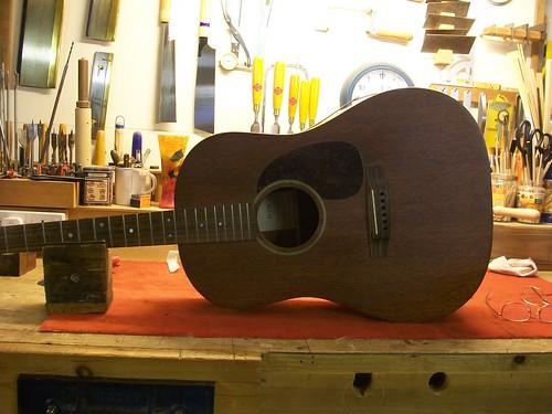Martin Acoustic Guitar Repair D 15s Rib Repair Graham Parker Luthier
