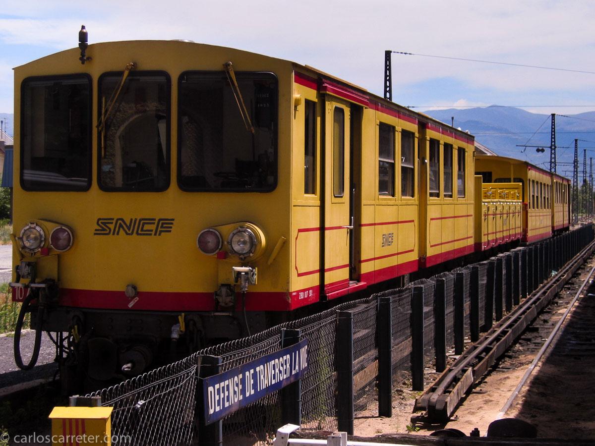Tren Amarillo de la Cerdaña