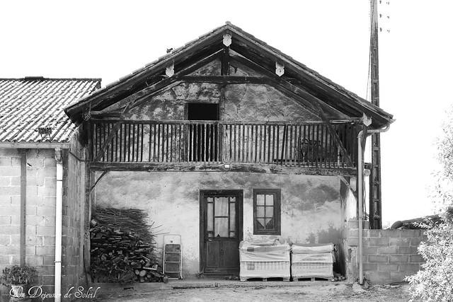 Ancienne maison dans les Landes