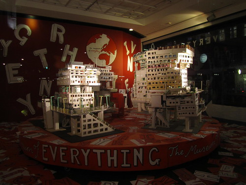 The Museum of Everything - Windowdisplays at Selfridges