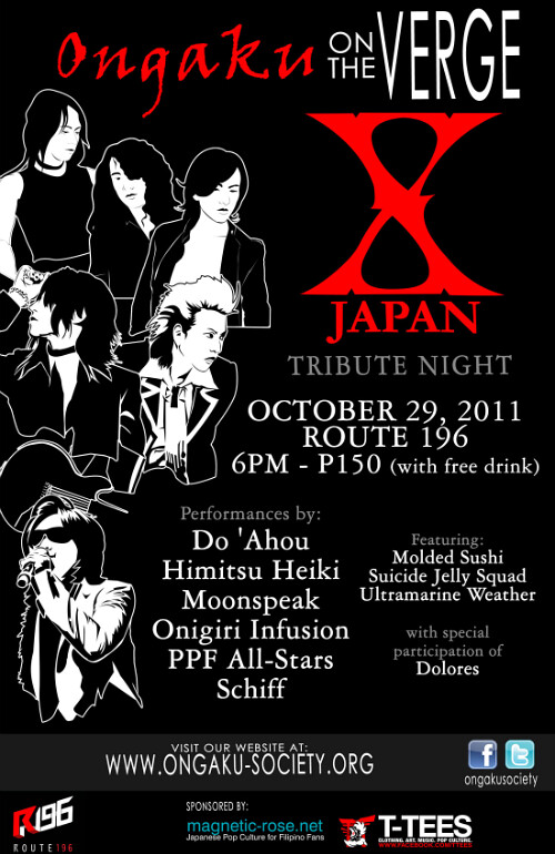 Ongaku On the Verge: an X Japan Tribute Gig