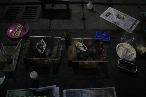 [台湾2.5] BBQはもう終わっていた。