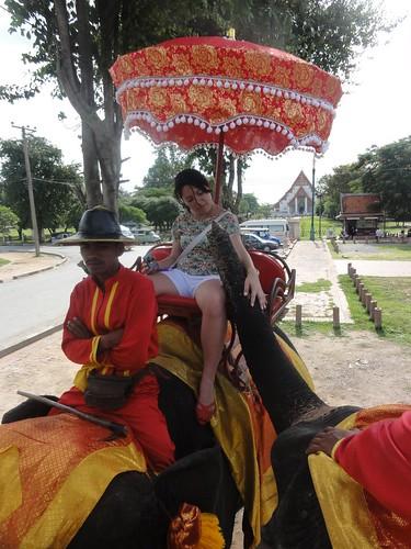 18/9/2011 - Passeio em elefantes (Ayuthaia/Thailand)