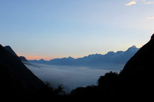 Inca Trail Morning - day 3
