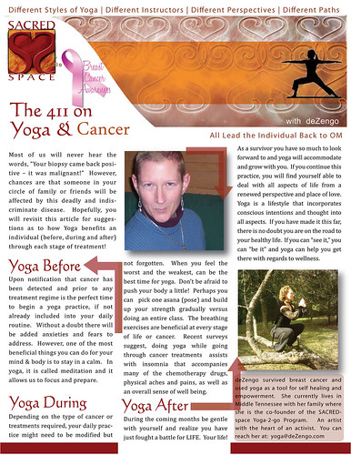 SACREDspace Studio - the 411 on Yoga and Cancer