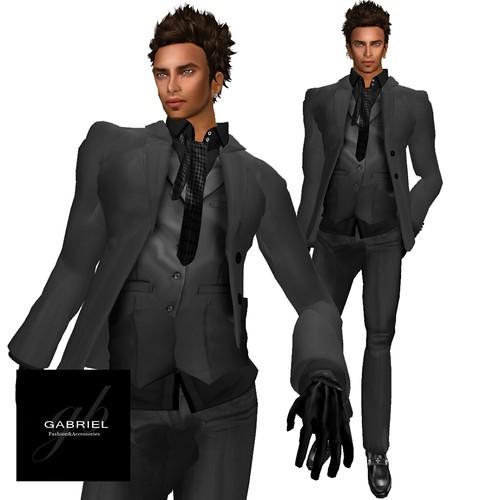 NEW @ MIMI'S CHOICE 3 Piece suit , Gabriel by mimi.juneau *Mimi's Choice*