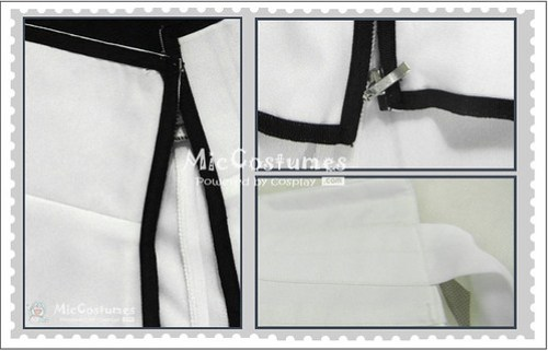 Bleach Ulquiorra Cosplay Costume1