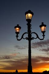 Sunset on Rome