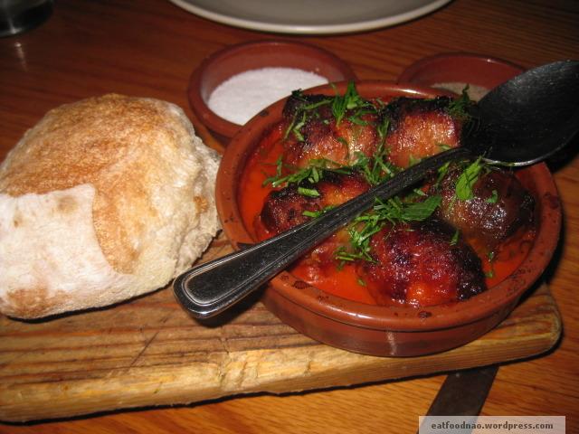 Chorizo stuffed medjool dates