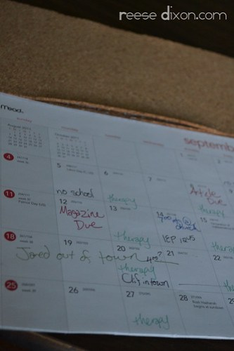 Calendar Corkboard Step 4