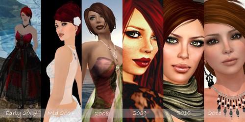My SL Evolution--Harper Beresford