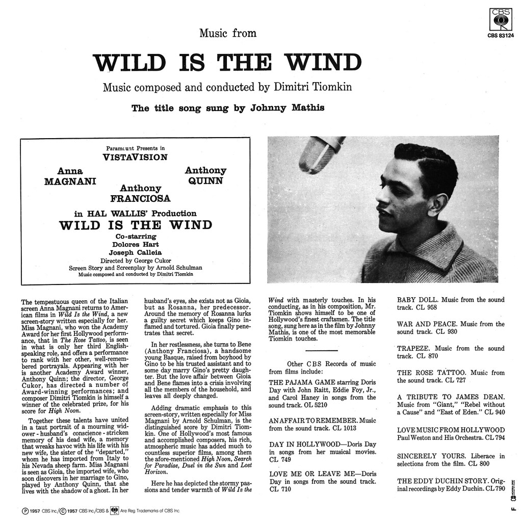 Dimitri Tiomkin - Wild is the Wind