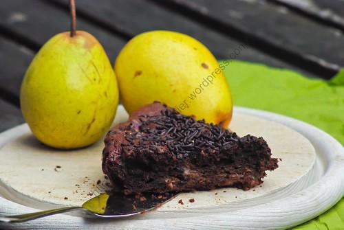 Gâteau aux poires et au chocolat / Pear and Chocolate Cake