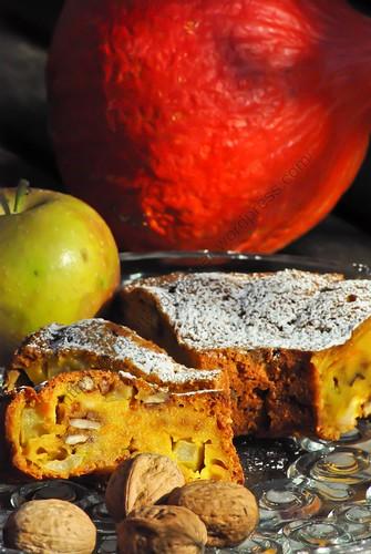 Gâteau aux saveurs d'automne / Autumnal Flavour Cake