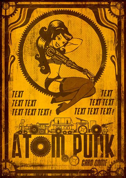 Atompunk Front Cover