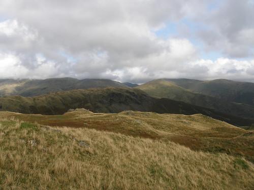 Cloud-topped Eastern Fells