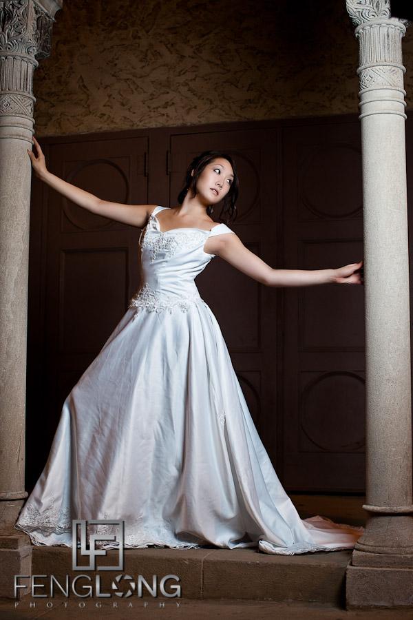 Alice's Bridal Portrait Glamour Session   Fox Theatre Midtown   Atlanta Wedding Photographer