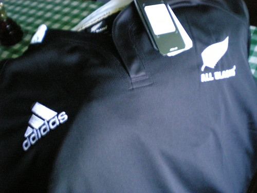 All Blacks' jersey