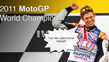 Casey Stoner Juara MotoGP 2011
