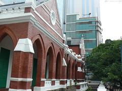 Verandah along the former Kowloon British School