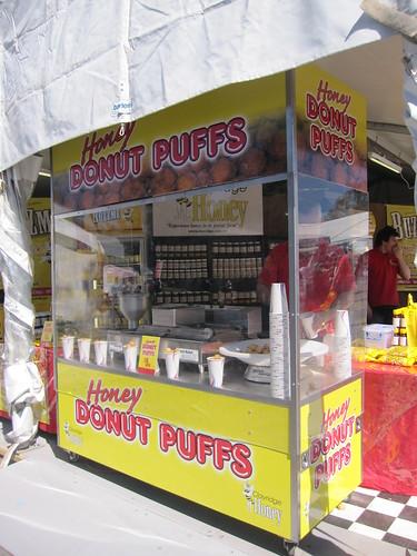 Tasty donut puffs!