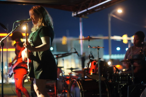 Pink Flag, Pinhook Outdoor Stage, Durham NC, 09/24/11