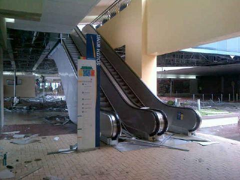 Typhoon Pedring - Mall of Asia