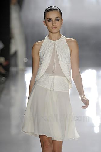 CRR FV Spring 2012 white dress bolero