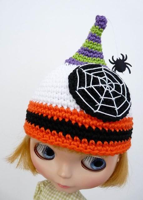 Blythe Halloween Hat 4