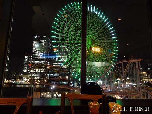 Windy day at Yokohama