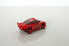 8486 Mack's Team Truck - Lightning McQueen Rear