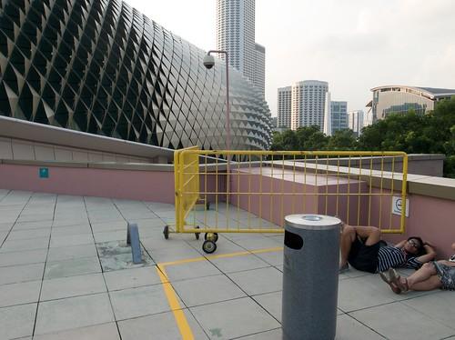 Esplanade Mall Roof