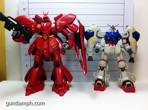 MSIA DX Sazabi 12 inch model (35)
