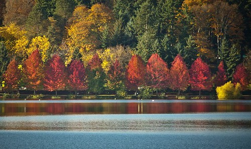 Green Lake in Autumn