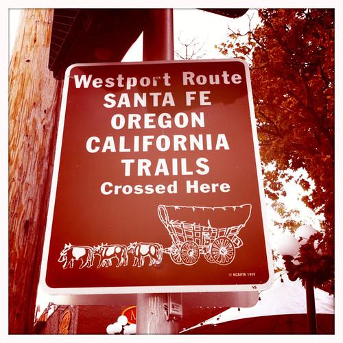 Oregon Trail sighting!