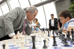 Chess tournament at the EP with Garry Kasparov