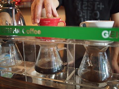 Hario V60 Pourover Bar, Geisha Specialty Coffee, Burlington Square, Bencoolen Street